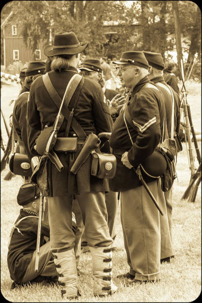 Photograph - Soldiers by Stewart Helberg