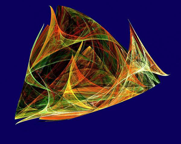 Digital Art - Something Fishy by Rein Nomm