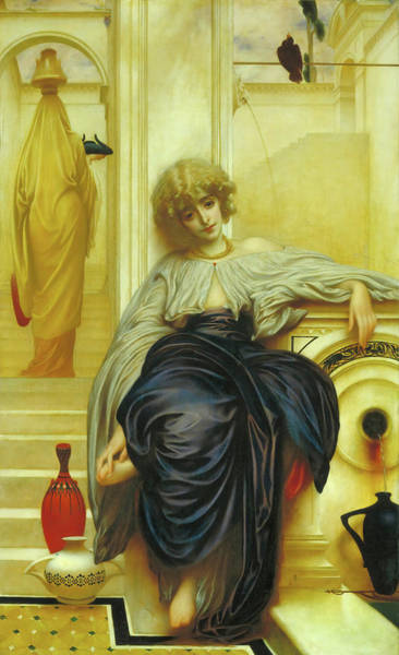Wall Art - Painting - Songs Without Words by Frederic Leighton