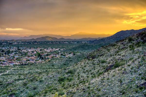 Photograph - South Mountain Sunset  by Ants Drone Photography