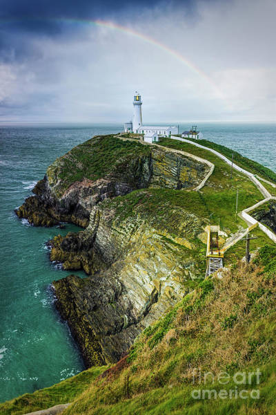 Photograph - South Stack Lighthouse by Ian Mitchell