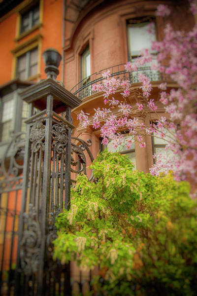Photograph - Spring In Boston Back Bay by Joann Vitali