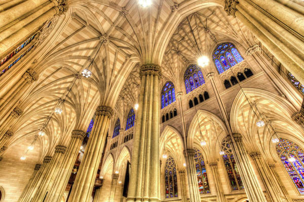 Wall Art - Photograph - St Patrick's Cathedral Manhattan  by David Pyatt