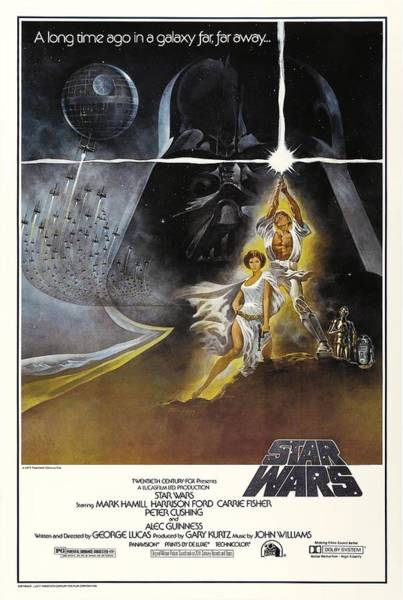 Episode Iv Wall Art - Photograph - Star Wars Episode Iv-a New Hope -1977-. by Album