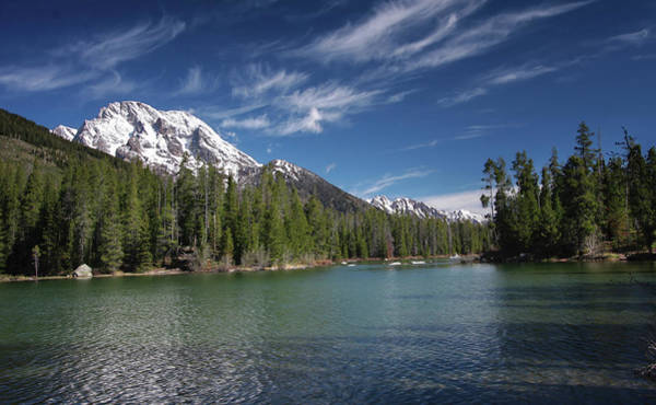 Photograph - String Lake by Ronnie and Frances Howard