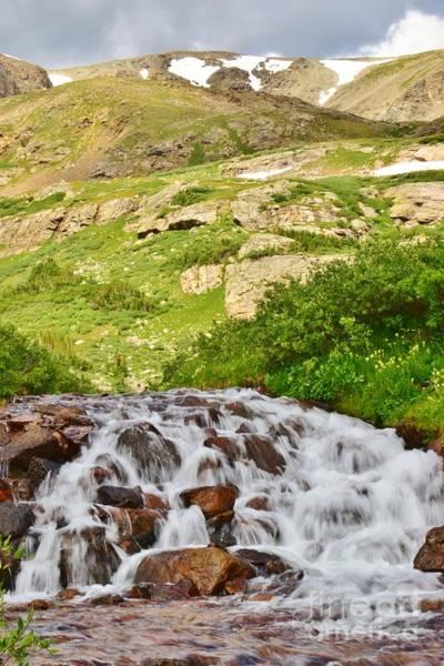 Photograph - Summer Cascades by Tonya Hance