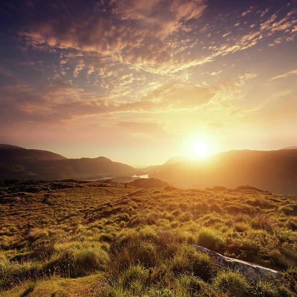 Killarney Photograph - Summer Sunrise by Mammuth