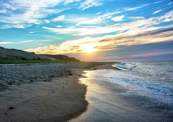 Wall Art - Photograph - Sunset At Cape Cod National Seashore - Massachusetts by Brendan Reals
