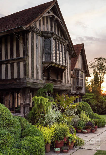 Photograph - Sunset At Great Dixter House And Gardens by Perry Rodriguez