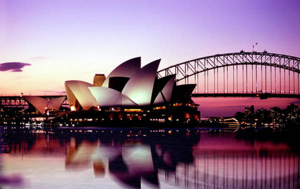 Harbor Photograph - Sydney Opera House by Peter Phipp