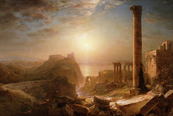 Wall Art - Painting - Syria By The Sea by Frederic Edwin Church