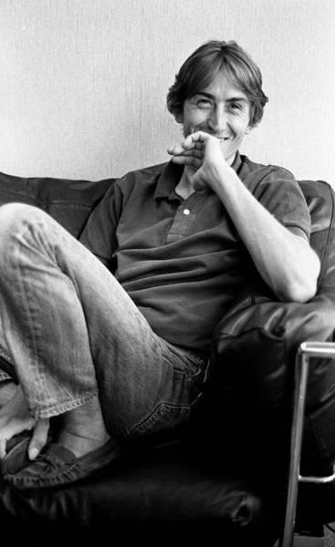 Talking Photograph - Talk Talk Singer Mark Hollis London 1990 by Martyn Goodacre