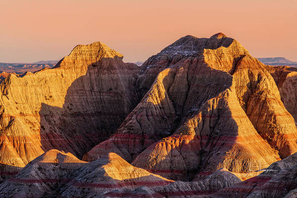 Photograph - The Badlands by Jim Thompson