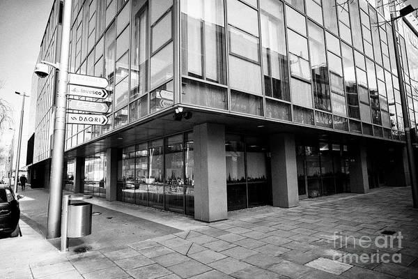 Wall Art - Photograph - the bloodstone building sir john rogersons quay housing tripadvisor offices and logmein office Dubli by Joe Fox