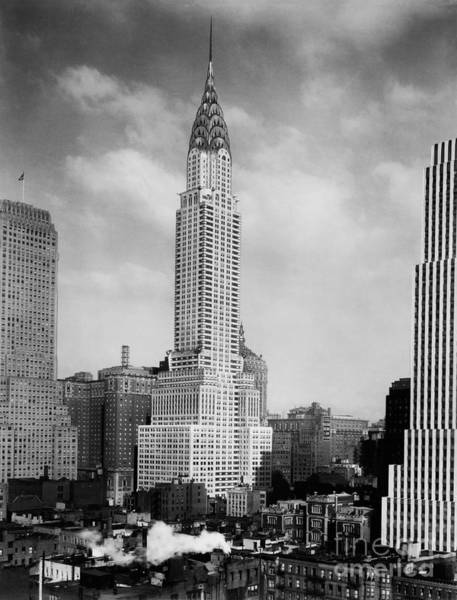 Wall Art - Photograph - The Chrysler Building by Jon Neidert