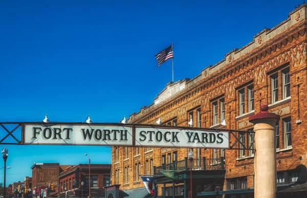 Wall Art - Photograph - The Fort Worth Stock Yards by Mountain Dreams