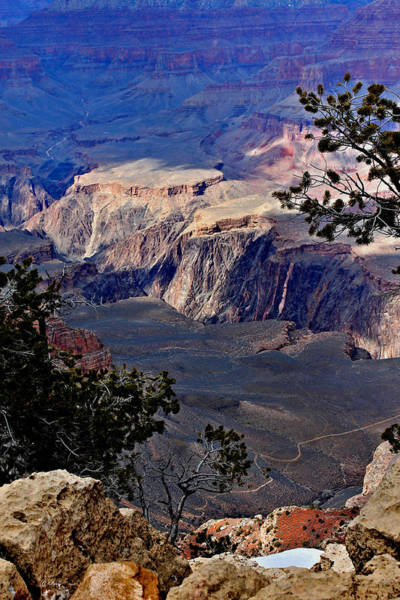 Canyon Mixed Media - The Grand Canyon Is 100 Years Old by G Berry