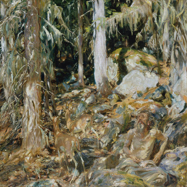 Wall Art - Painting - The Hermit by John Singer Sargent
