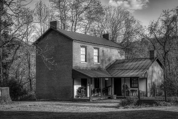 Wall Art - Photograph - The Historic Prickett House by Mountain Dreams