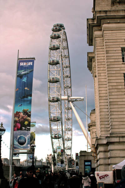 Photograph - The London Eye by Doc Braham