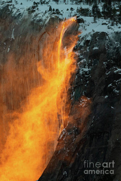 Wall Art - Photograph - Fire Falls by Jamie Pham