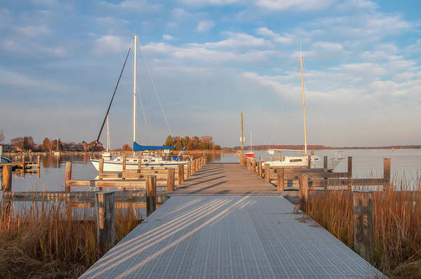 Wall Art - Photograph - The Marina At St Michaels Maryland by Bill Cannon