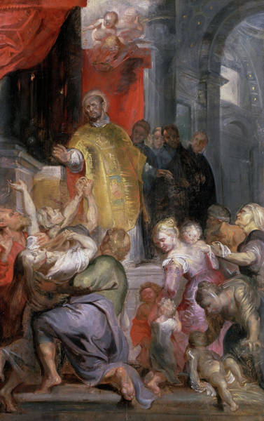 Wall Art - Painting - The Miracles Of Saint Ignatius Of Loyola by Peter Paul Rubens