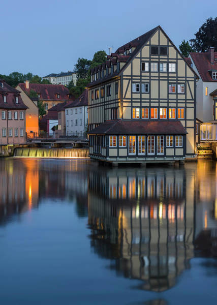Wall Art - Photograph - The Old Town And River Regnitz by Martin Zwick