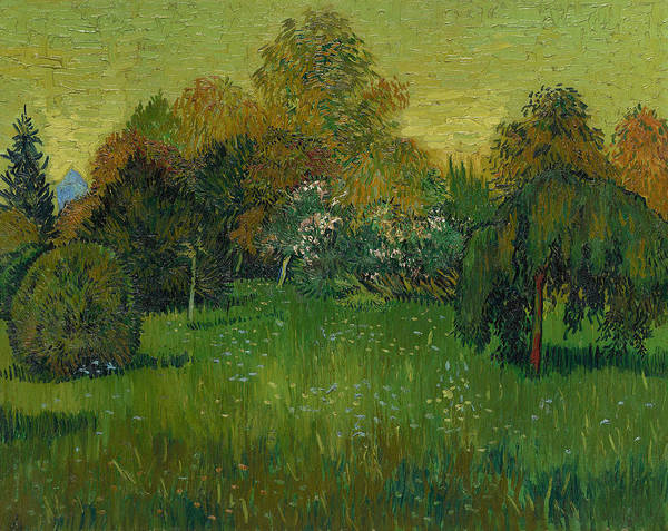 Painting - The Poet's Garden by Vincent van Gogh