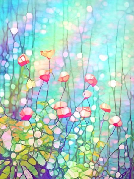 Wall Art - Digital Art - The Poppies by Tara Turner