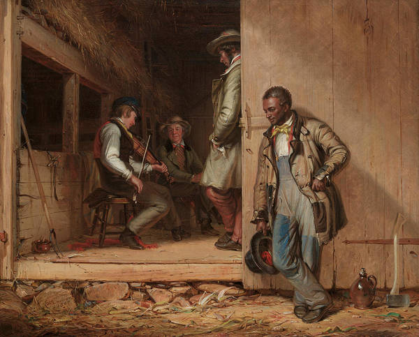 Painting - The Power Of Music by William Sidney Mount