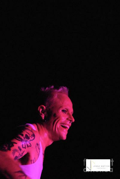 Photograph - The Prodigy Keith Flint by Jenny Potter