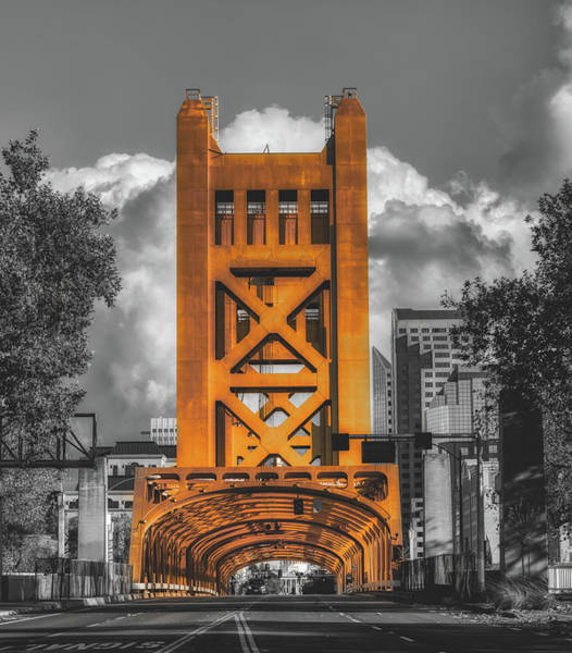 Wall Art - Photograph - The Tower Bridge -  Sacramento by Mountain Dreams