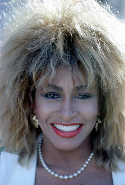 Photograph - Tina Turner Portrait by Michael Ochs Archives