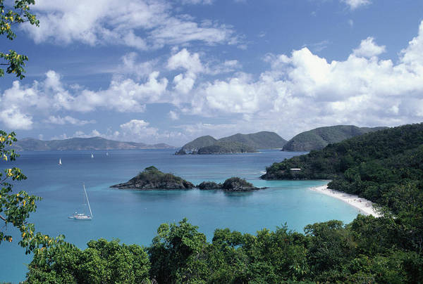Outdoors Photograph - Trunk Bay, St. John, Us Virgin Is by Dc Productions