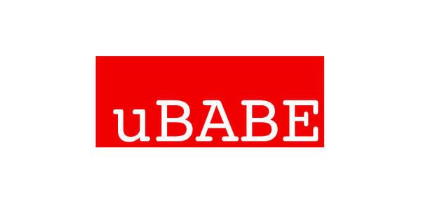 Digital Art - uBABE Label by Charles Stuart