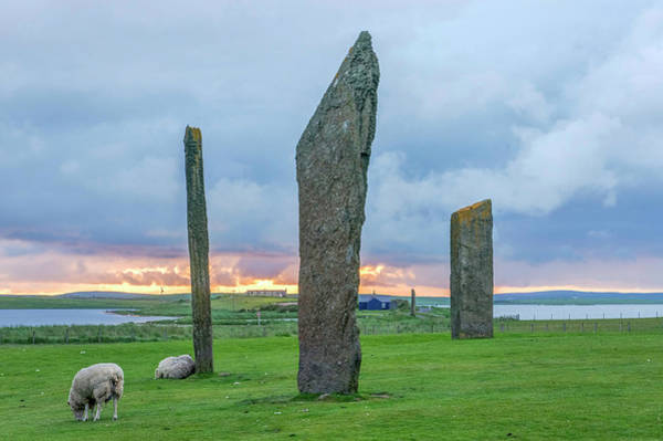 Wall Art - Photograph - Uk, Scotland, Orkney Island by Rob Tilley