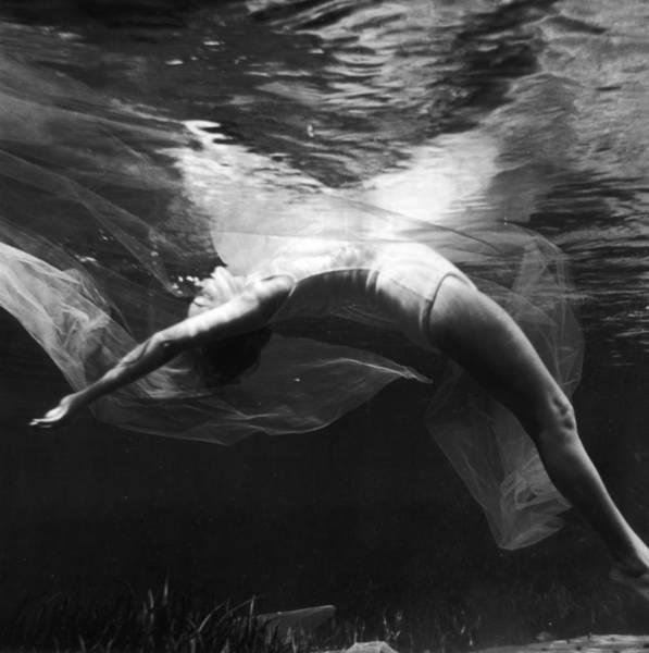 Wall Art - Photograph - Underwater Ballet by Bruce Mozert