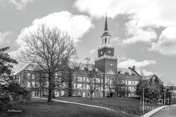 Photograph - University Of Cincinnati Mc Micken Hall  by University Icons
