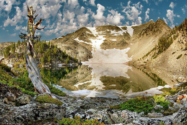 Wall Art - Photograph - Upper Skytop Lake by Leland D Howard