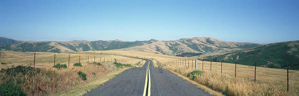 Wall Art - Photograph - Usa , California, Marin County, Road by Panoramic Images