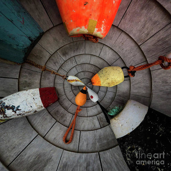 Photograph - Variations On A Buoy by Doug Sturgess