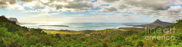 Wall Art - Photograph - View From The Viewpoint. Mauritius. Panorama by MotHaiBaPhoto Prints