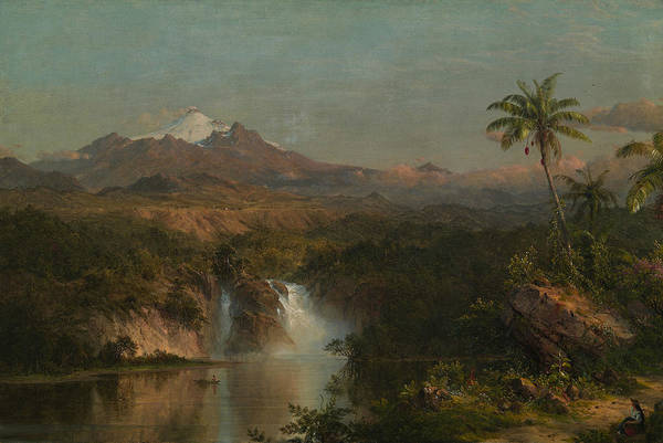Wall Art - Painting - View Of Cotopaxi by Frederic Edwin Church