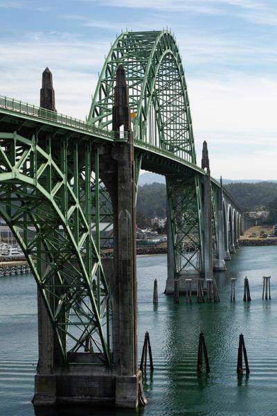 Wall Art - Photograph - View Of Oregon City Bridge, Oregon, Usa by Panoramic Images