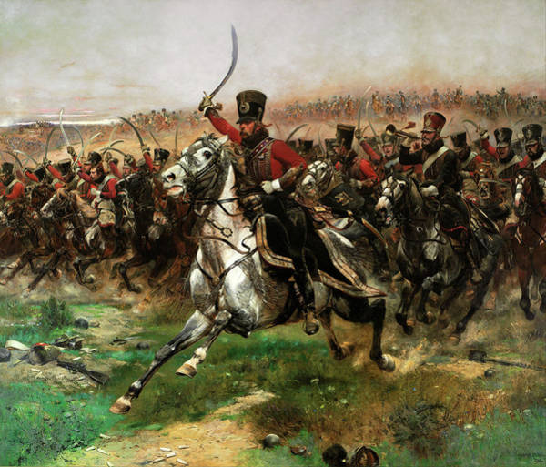 Painting - Vive Lempereur  by Edouard Detaille
