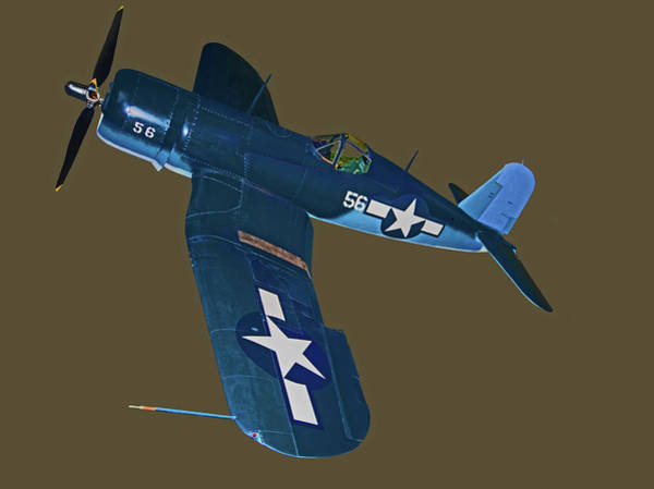 Photograph - Vought F4u Corsair American Fighter by Millard H. Sharp