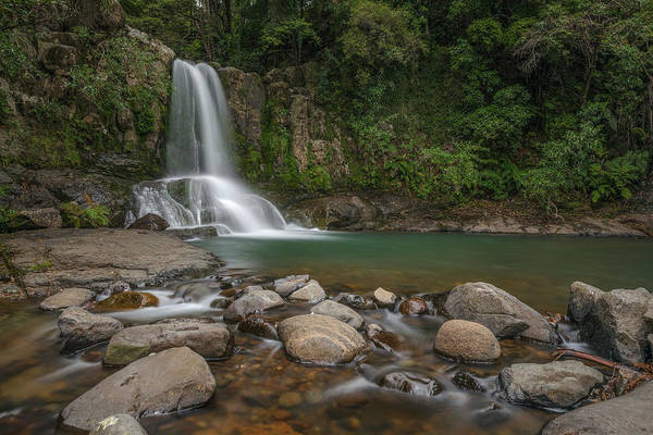 Te Waipounamu Wall Art - Photograph - Waiau Falls - New Zealand by Joana Kruse