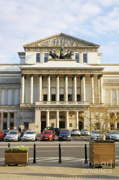 Wall Art - Photograph - Warsaw Opera Club by Tom Gowanlock