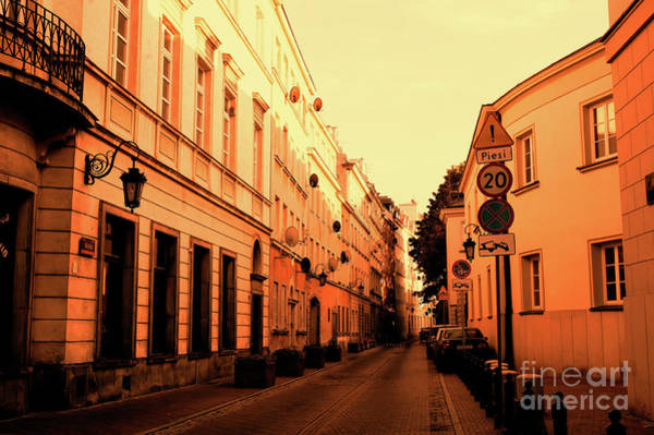 Wall Art - Photograph - Warsaw Street View by Tom Gowanlock